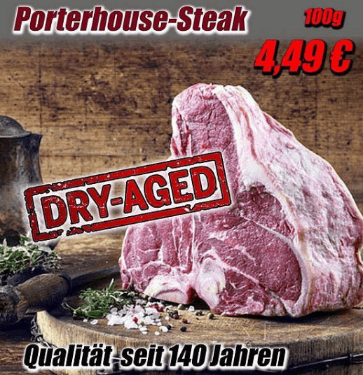 Angebot Porterhouse Steak